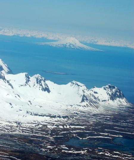 Katmai National Park Coastline in Alaska